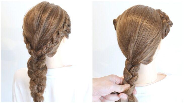 [スクールヘアアレンジ]暑い夏におススメのヘアアレンジ/Cute School Hairstyle / hair works &SOL