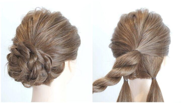 巻かずにできる簡単可愛いヘアアレンジ/ Easy Hairstyle/ Прическа на длинные волосы.Летняя прическа/ hair works &SOL